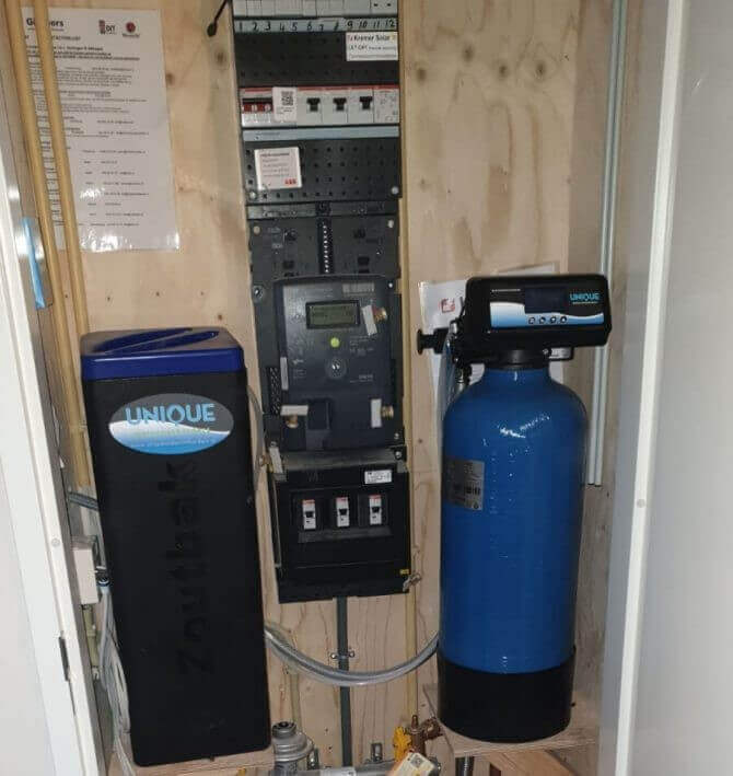 Waterontharder meterkast